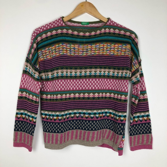 United Colors Of Benetton Other - United Colors of Benetton Girl's Sweater Size XL